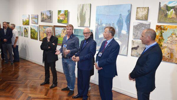 Итоги арт-пленэра подвели в Сухуме - Sputnik Абхазия