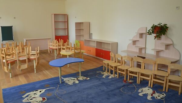 Новый детский сад в Агудзере - Sputnik Аҧсны