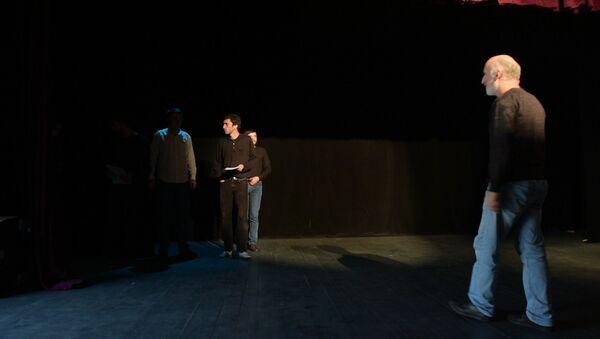 Илахҿыхоу ахҭыс: Аԥсуа театр апремиера Ацгәи ахьчеи аҽазыҟаҵара - Sputnik Аҧсны