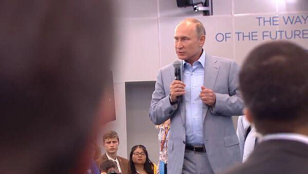 Путин об оружии, более страшном, чем ядерная бомба - Sputnik Абхазия