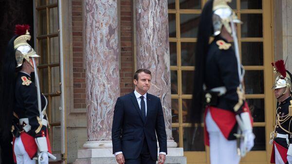 Президент Франции Эммануэль Макрон - Sputnik Абхазия