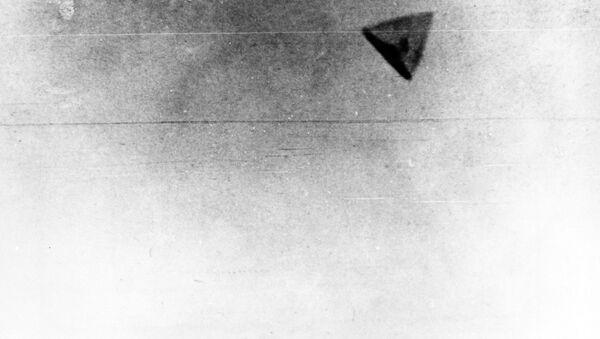 Одна из редких фотографий НЛО необычной формы - Sputnik Абхазия