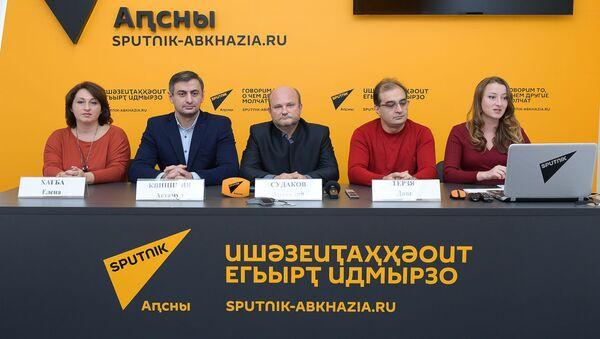 Пресс-конференция о гастролях камерного оркестра в Москве - Sputnik Абхазия