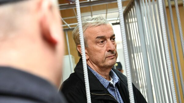Заседание суда по рассмотрению ходатайства следствия об аресте подозреваемого в хищении денежных средств у В. Этуша - Sputnik Абхазия