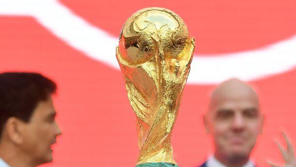 Старт тура Кубка ЧМ-2018 по футболу - Sputnik Абхазия