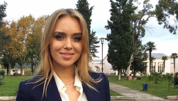 Посол доброй воли Ксения Сухинова - Sputnik Абхазия