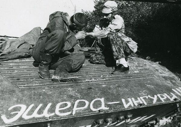 5-6 октября Гагра была освобождена, но затем пошел ряд неудачных операций абхазской армии. - Sputnik Абхазия