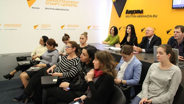 Пресс конференция - Sputnik Абхазия