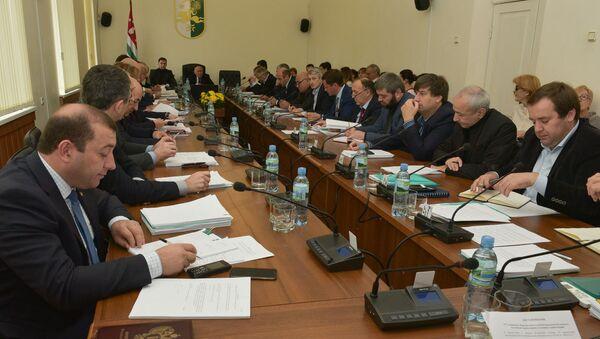 Заседание парламента - Sputnik Абхазия