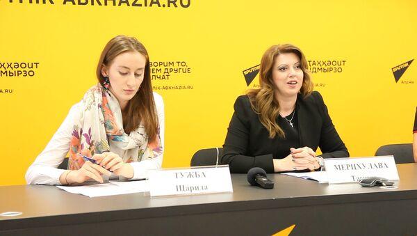 Пресс-конференция в Sputnik о фотоконкурсе ТПП Абхазии - Sputnik Абхазия