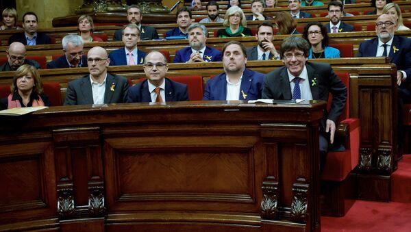Бывший состав парламента Каталонии - Sputnik Абхазия
