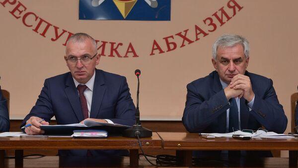 Расширенное заседание коллегии МВД - Sputnik Аҧсны