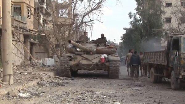 Сирийская армия полностью освободила Дейр-эз-Зор - Sputnik Абхазия