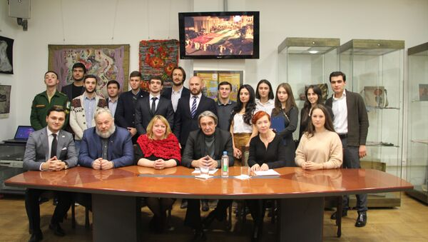 Участники собрания абхазских студенческих землячеств г. Москвы - Sputnik Абхазия