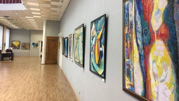 Выставка Абхазских художников в Москве - Sputnik Абхазия