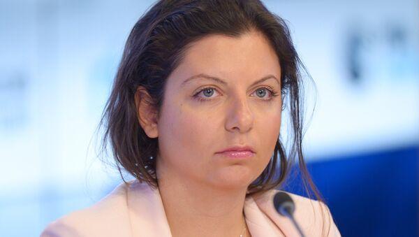 Главный редактор Международного информационного агентства Россия сегодня Маргарита Симоньян - Sputnik Абхазия