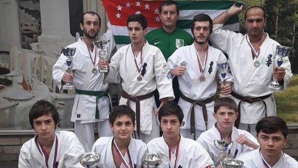 Юниоры Абхазии на первенстве по карате - Sputnik Аҧсны