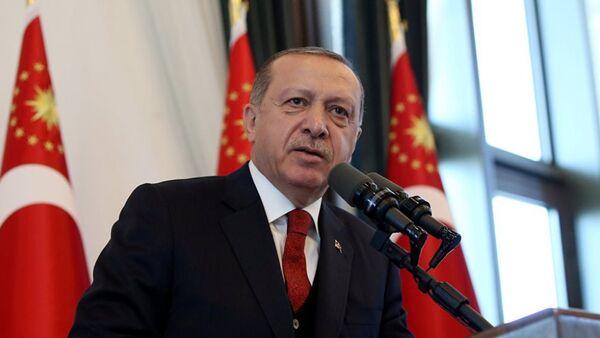Президент Турции Реджеп Тайип Эрдоган - Sputnik Аҧсны