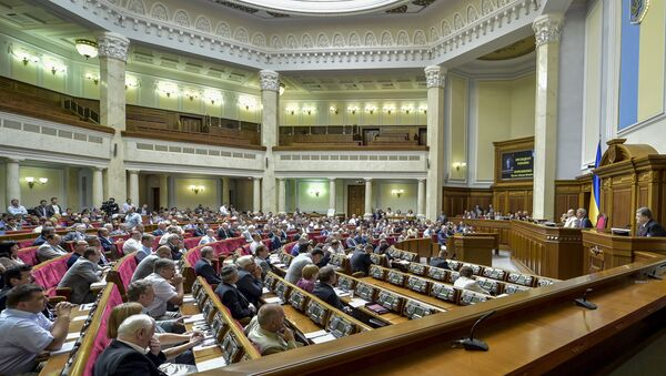 Внеочередное пленарное заседание Верховной Рады Украины - Sputnik Аҧсны