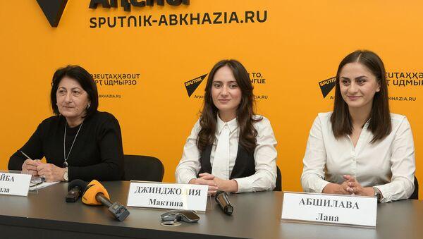 Пресс-конференция с фондом АШАНА об акции Урок Добра - Sputnik Аҧсны