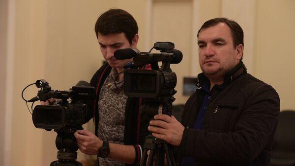 Президент Абхазии Рауль Хаджимба в четверг 9 ноября провел брифинг - Sputnik Абхазия