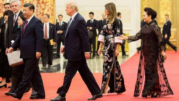 Трамп в Китае - Sputnik Абхазия