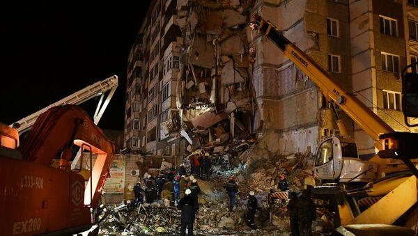 Обрушение жилого дома в Ижевске - Sputnik Абхазия