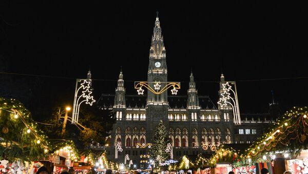 Рождественская ярмарка в Вене - Sputnik Абхазия