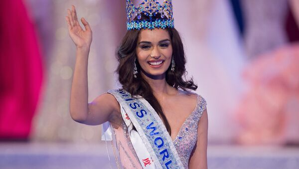 Мисс мира-2017 представительница Индии Мануши Чхиллар - Sputnik Аҧсны