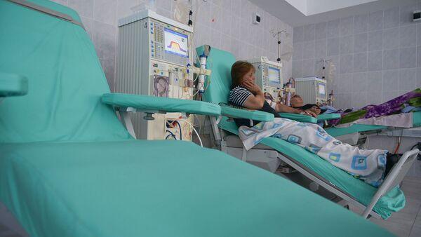 Процедура гемодиализа в республиканской больнице - Sputnik Абхазия