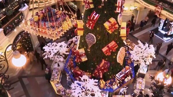 В Москве появились в продаже необычные новогодние игрушки - Sputnik Абхазия