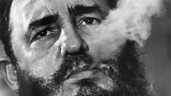 Кубинский лидер Фидель Кастро - Sputnik Абхазия