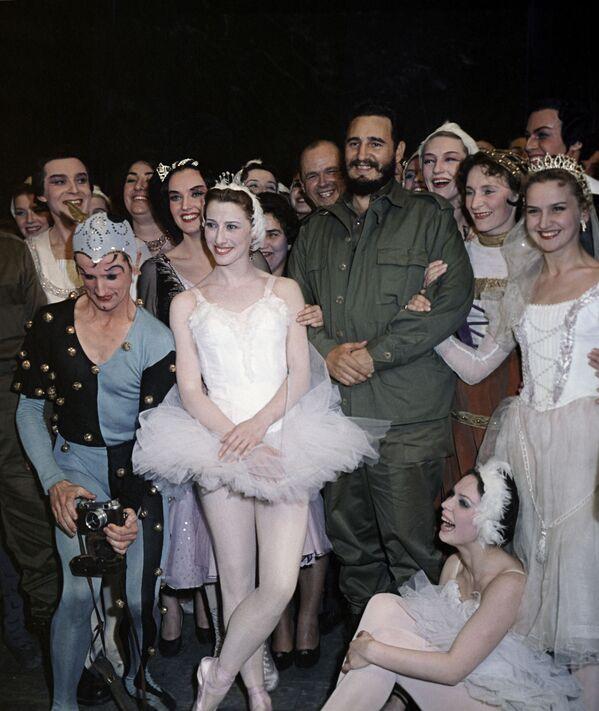 Визит Фиделя Кастро в СССР - Sputnik Абхазия
