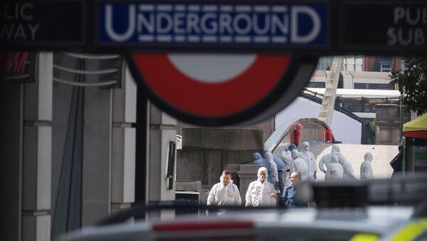Ситуация на месте теракта в Лондоне. Архивное фото - Sputnik Абхазия