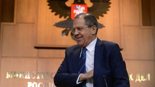 Министр иностранных дел России Сергей Лавров - Sputnik Абхазия