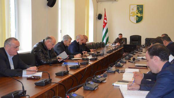 Заседание парламентской комиссии - Sputnik Аҧсны