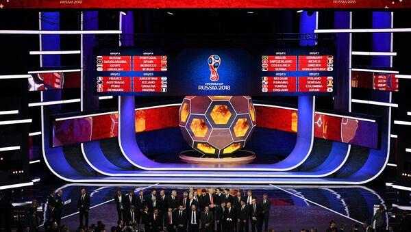 Официальная жеребьевка чемпионата мира по футболу 2018 - Sputnik Абхазия