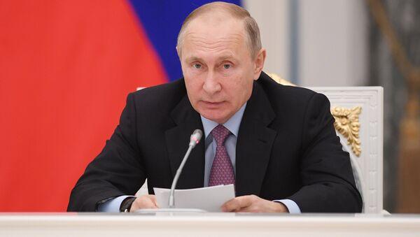 Президент РФ В. Путин провел заседание Координационного совета - Sputnik Абхазия