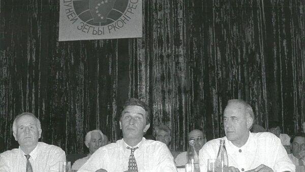 Первый Всемирный абхазо-абазинский конгресс 7-8 октября 1992 года. - Sputnik Абхазия
