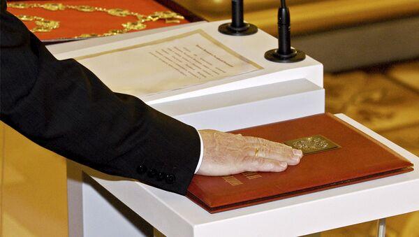 Официальное вступление в должность президента России Владимира Путина, 2004 год - Sputnik Аҧсны