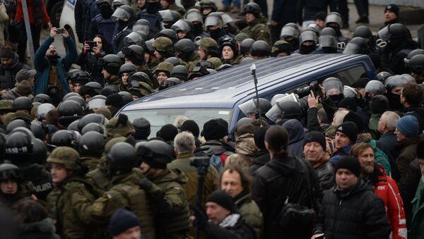 Ситуация в Киеве в связи с задержанием М. Саакашвили - Sputnik Аҧсны