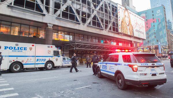 Автомобили полицейского управления Нью-Йорка, архивное фото - Sputnik Абхазия