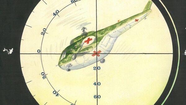 Военные карикатуры Гарри Дочия - Sputnik Аҧсны