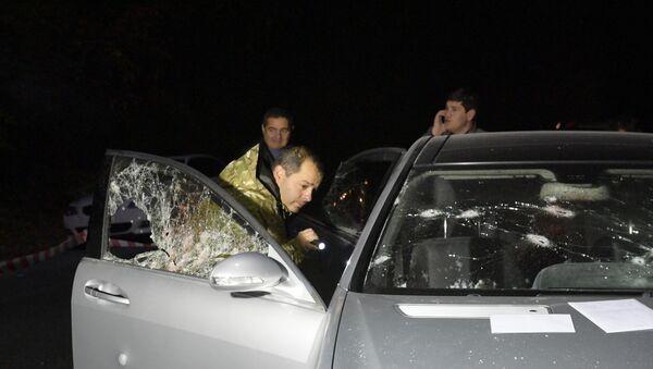 Двойное убийство в районе Гумисты: кадры с места преступления - Sputnik Абхазия