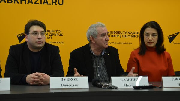 Пресс-конференция Михаила Казиника - Sputnik Абхазия