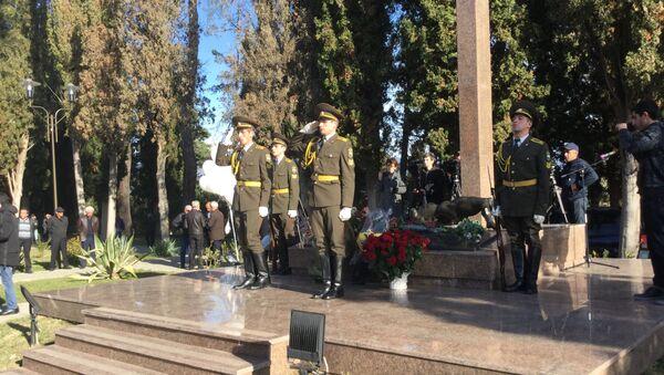 День памяти жертв Латской трагедии прошел в Гудауте - Sputnik Аҧсны