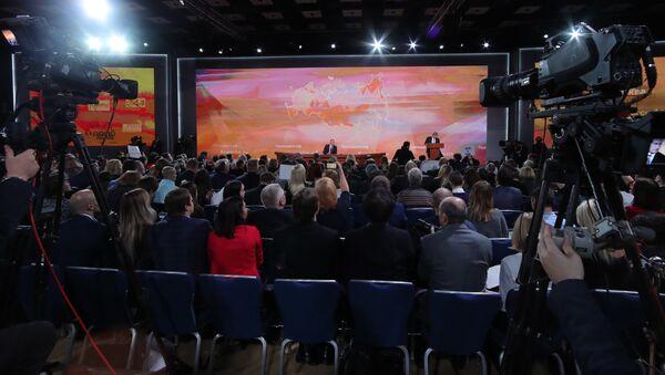 LIVE: Большая пресс-конференция Владимира Путина 2017 - Sputnik Абхазия