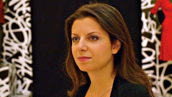 Главный редактор МИА Россия сегодня и телеканала RT Маргарита Симоньян - Sputnik Абхазия