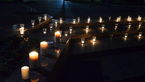 Акция памяти жертв Латской трагедии - Sputnik Аҧсны