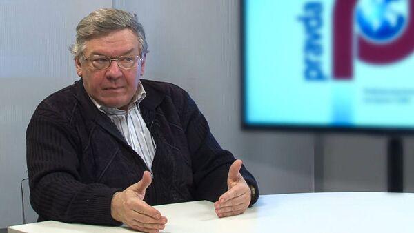 Доктор экономических наук, главный научный сотрудник Института США и Канады Владимир Васильев  - Sputnik Абхазия